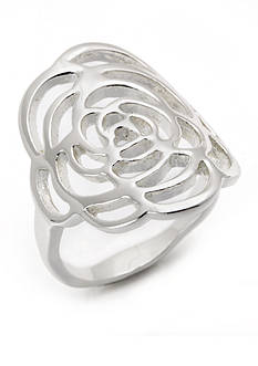 New Directions Polished Open Wave Ring