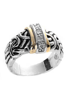 New Directions® Antique Two-Tone Ring