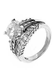 New Directions Round Stone Engagement Boxed Ring