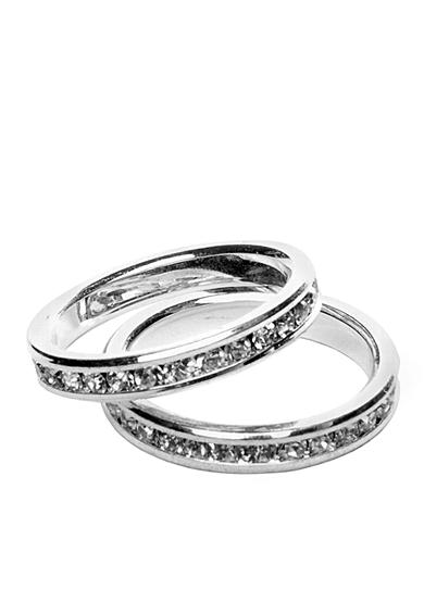 New Directions® Eternity Band Boxed Ring Set