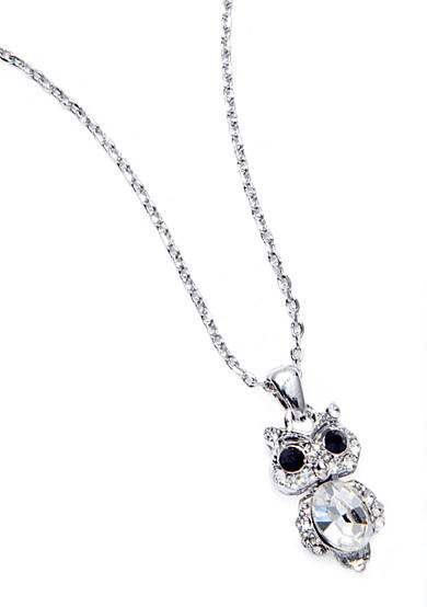 New Directions® Owl Pendant Necklace