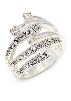New Directions® Crystal Wrap Boxed Ring
