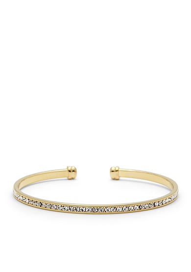 New Directions® Gold-Tone Eternity Bracelet