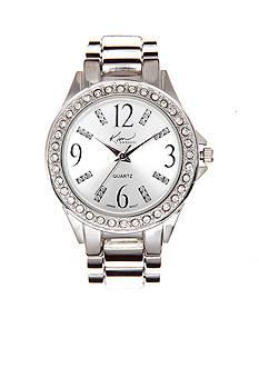Kim Rogers® Silver Bracelet Watch