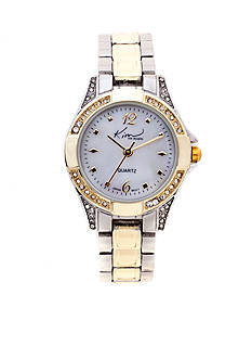 Kim Rogers Two-Tone Round Face Watch