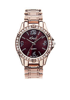 Kim Rogers Watch - Small Chocolate Boyfriend Style