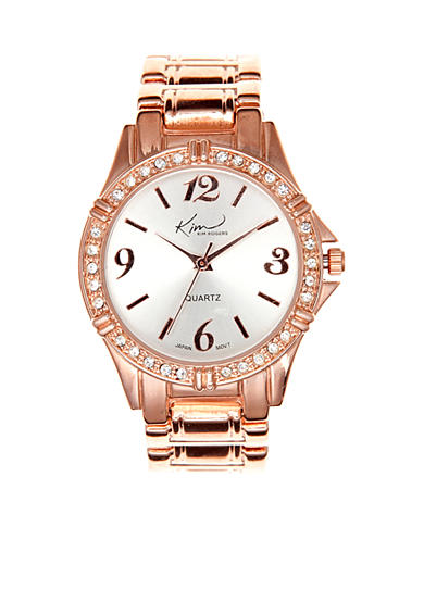 Kim Rogers® Rose Gold Watch