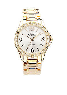 Kim Rogers® Gold Small Boyfriend Watch