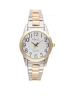 Kim Rogers® Women's Two-Tone Expansion Band Watch