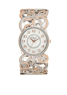 Kim Rogers Women's Cuff Bangle Watch