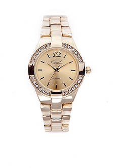 Kim Rogers Women's Gold Bracelet Watch