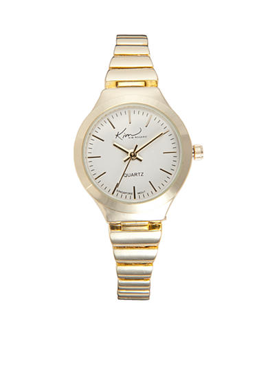Kim Rogers® Women's Gold Expansion Band Watch