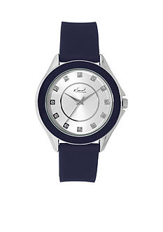 Kim Rogers® Silver-Tone A Classic Time Watch