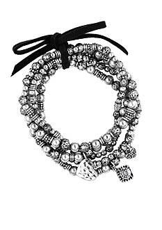 Nine West Vintage America Collection Stretch Bracelet