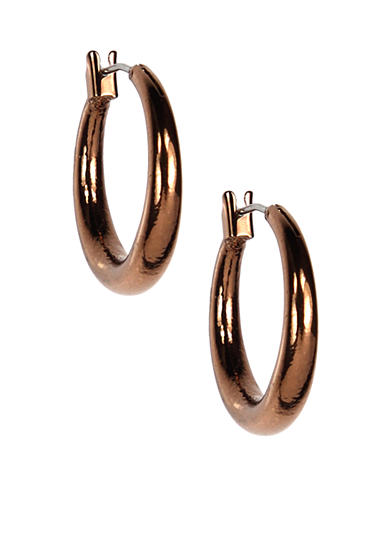 Nine West Vintage America Collection Small Hoop Earrings
