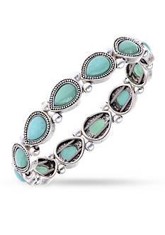 Nine West Vintage America Collection Stone Stretch Bracelet
