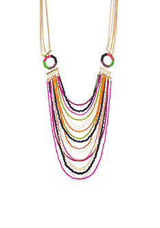 Trina Turk Gold-Tone Free Spirit Drama Multistrand Necklace