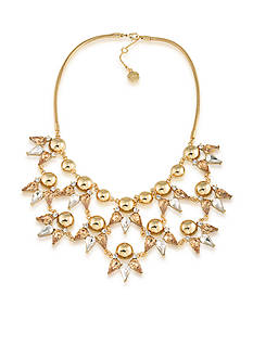 Trina Turk Gold-Tone Sparkle and Shine Frontal Necklace