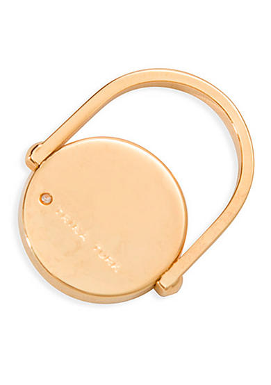 Trina Turk Gold-Tone Mod Moments Round Disk Ring