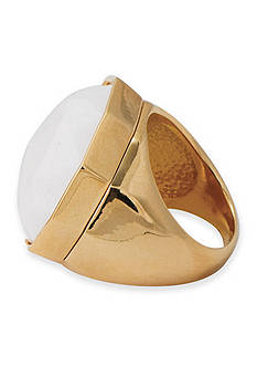 Trina Turk Gold-Tone Modernity Large Ring