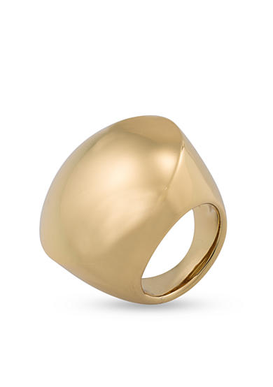 Trina Turk Gold-Tone Dome Statement Ring