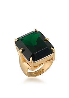 Trina Turk Cabaret Green Ring Size 7