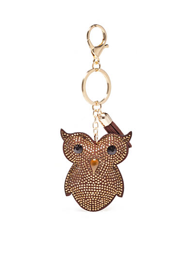 New Directions® Gold-Tone Owl Key Ring