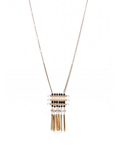 New Directions® Gold-Tone Stingray Long Pendant Necklace