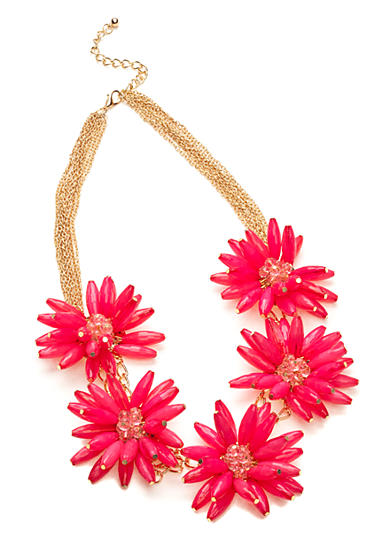 New Directions® Flower Statement Necklace