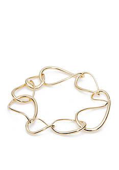 Nadri Gold-Tone Large Link Chain Bracelet