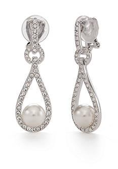Nadri Pearl Clip Earring