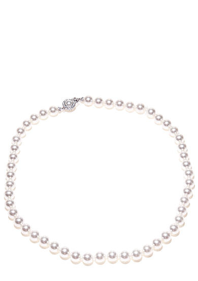 Nadri 8-mm. 18-in. Pearl Framed Clasp Necklace