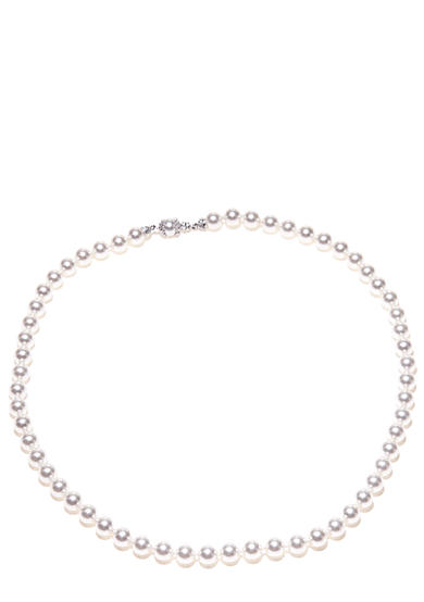 Nadri 16-in Pearl Strand Necklace