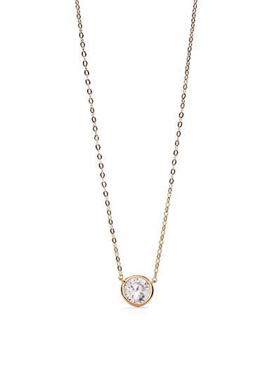 Nadri Gold-Tone Pendant Necklace