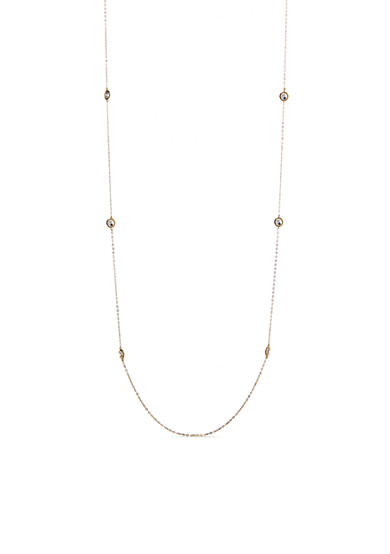 Nadri Long Gold-Tone Necklace