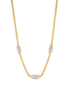Nadri Honey Wheat Chain Necklace