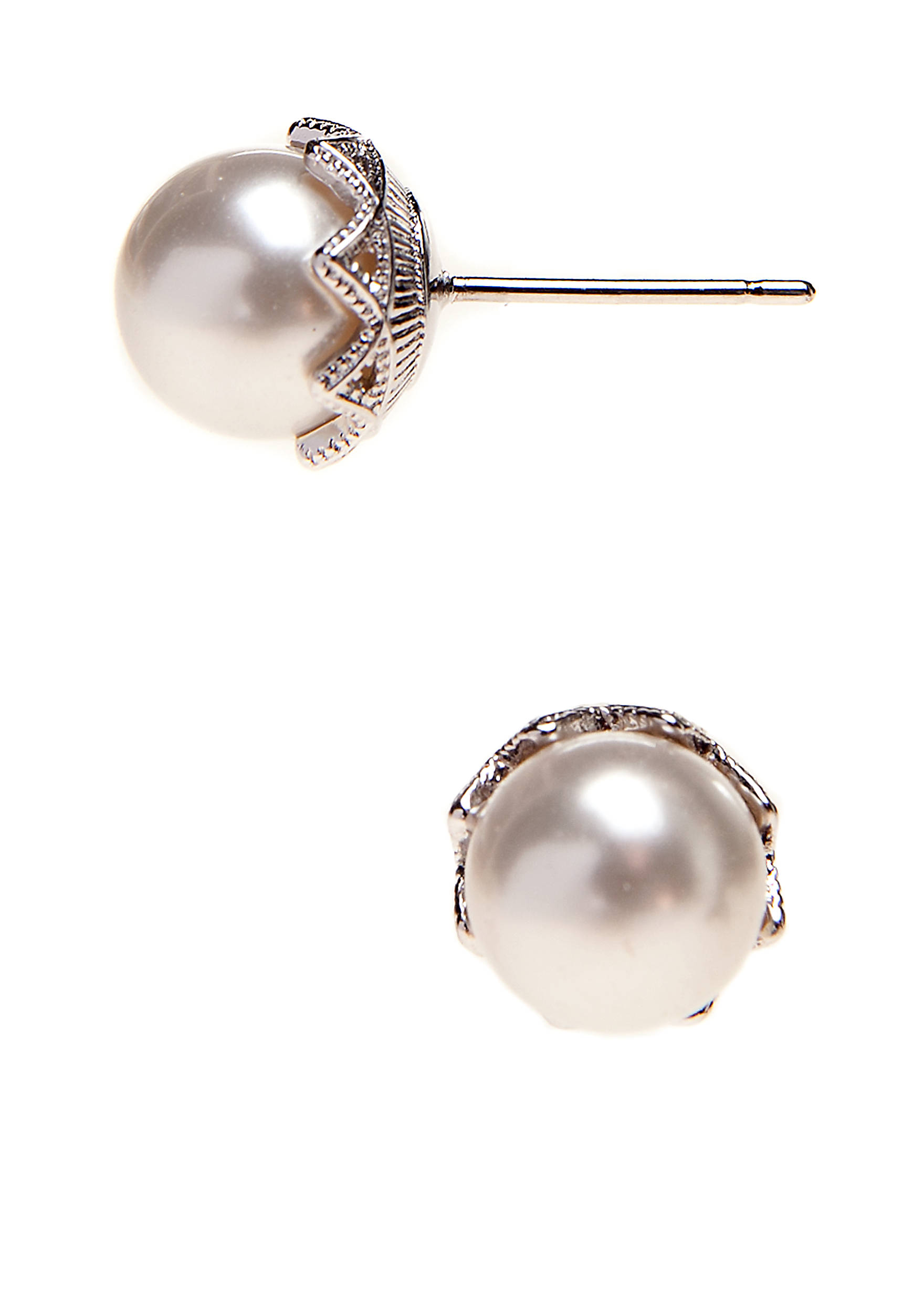 Pearl Stud Earring 5800554ao11582rwp Images
