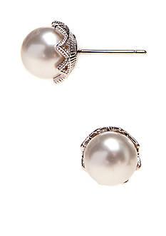Nadri 6-mm. Pearl Stud Earring