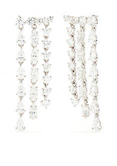 Nadri Cubic Zirconia Chandelier Drop Earrings
