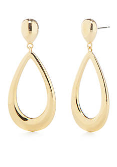 Nadri Gold-Tone Small Drop Earrings