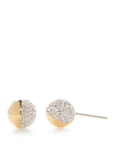 Nadri Gold-Tone Cubic Zirconia Stud Earrings