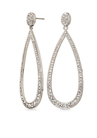 Nadri Open Teardrop Earrings