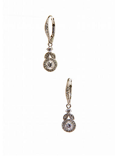 Nadri Bridal Vine Leverback Earrings