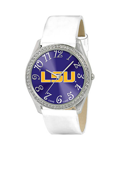 Game Time® Louisiana State University Glitz Series Watch