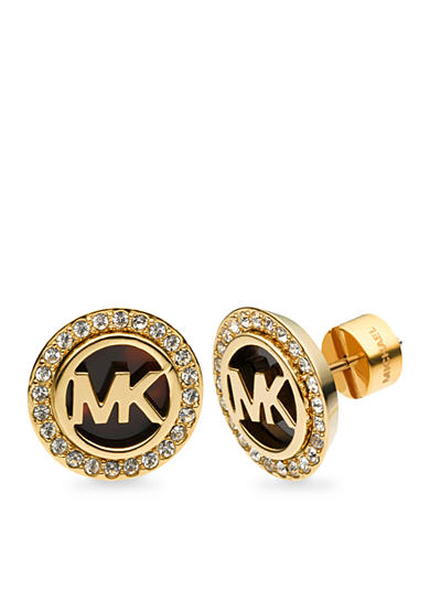 Michael Kors Tortoise Stud Earrings