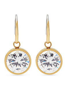 Michael Kors Gold-Tone and Crystal Drop Earrings