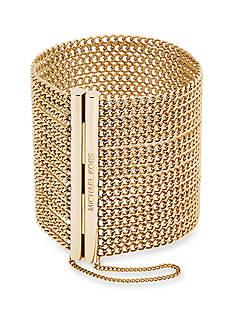 Michael Kors Gold-Tone Magnetic Closure Bracelet