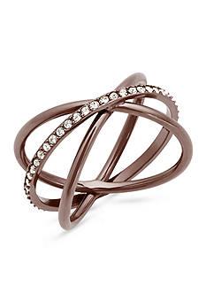 Michael Kors Sable Tone X Ring