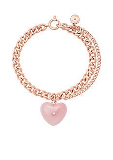 Michael Kors Rose Gold-Tone Link Bracelet