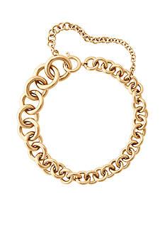 Michael Kors Gold-Tone Graduated Link Bracelet